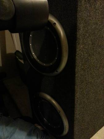 Rockford Fosgate P2 10 Subs in box with - $250 (Katy)