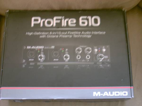 M-Audio ProFire 610 High-Def. 6-in10-out FireWire Audio Interface - $175