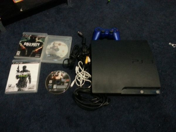 PS3 FOR SALE PLUS GAMES - $170 (harris countywillowbrook)