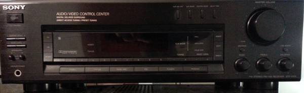 SONY STR-D515 Dolby Pro-logic Surround Sound Receiver - $50 (Hwy249 NW HOUSTON)