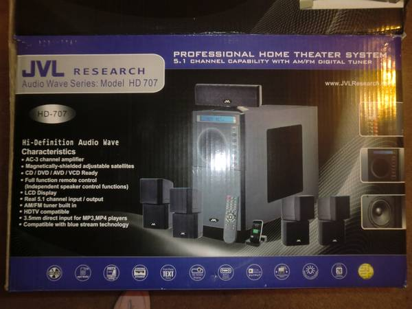 Home Theater System USED - $250 (Hwy 6 Bellaire)