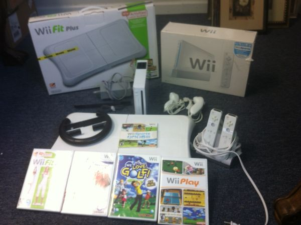 Like New Wii with games and fit plus - $175 (Montgomery)