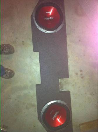 2 12inch Sony XPlod Subwoofers  - $160 (El Co )