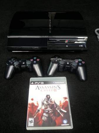 PS3 BUNDLE DEAL 320GB 2 CONTROLLERS - $200 (RELIANT AREA)