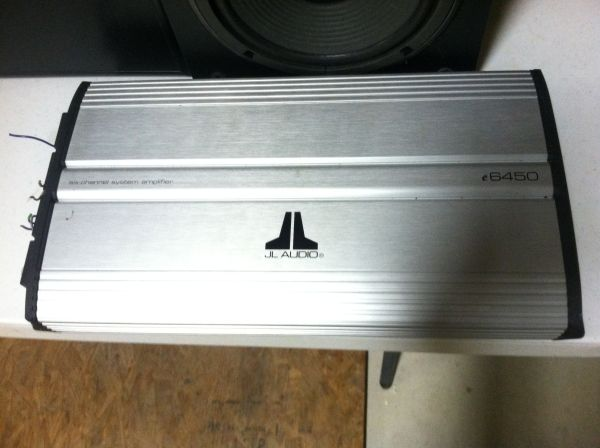 JL audio 6450  - $150 (League city )