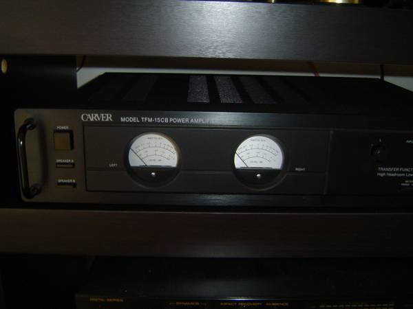 POWER AMPLIFIER CARVER TFM-15 - $230 (HOUSTON)