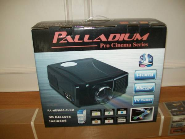 Palladium HD 3D Projector  - $450 (Downtown  Humble)
