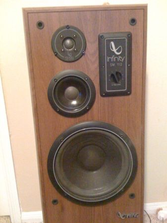 Two pairs of infinity studio monitor speakers. Best offer - $200 (Westheimer rd)