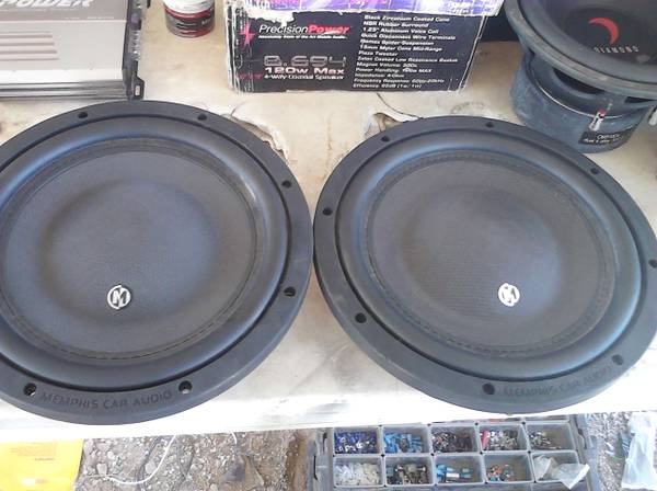 span classstarspan Memphis shallow mount subwoofers - $250 (North houston)