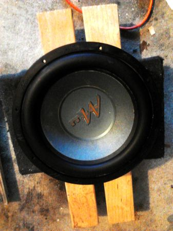 MERLON Audio 10 350W Extended Excursion Subwoofer Excellent Condition - $40 (NW Willowbrook)