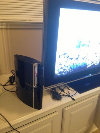 PS3 80GB MetalGearsolidEdition Backwards compatible - $220 (Houston)