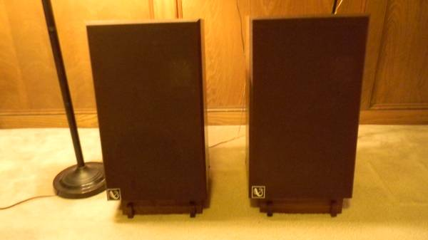VINTAGE INFINITY Qb AUDIOPHILE SPEAKERS FOR SALE - $350 (CHAMPION FOREST)