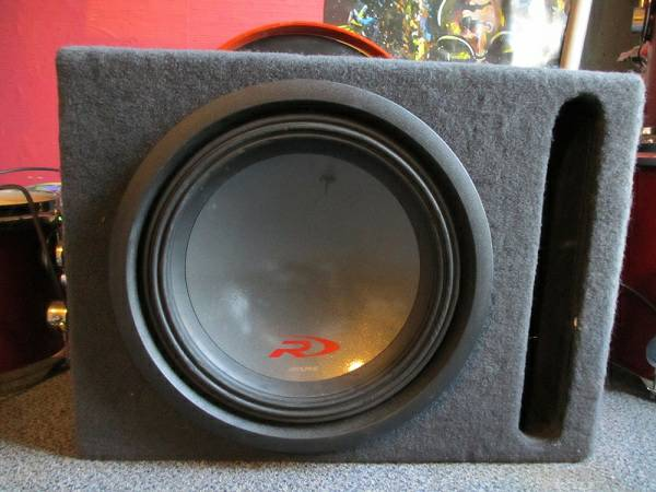 12 inch Alpine Type R Subwoofer w Box - $180 (New Caney)
