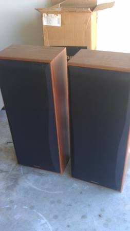 TECHNICS SPEAKER SYSTEM PAIR SPEAKERS -- NEW-- - $80 (N SPRING WOODLANDS)