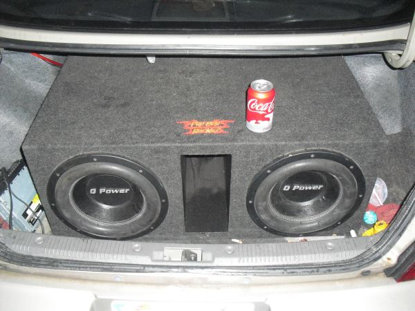 2 12 Q power subwoofers, deep ported probox, 3500 watt - $250 (houston)