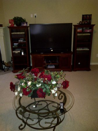 Big Screen TV and Entertainment Center - $1500 (Spring)