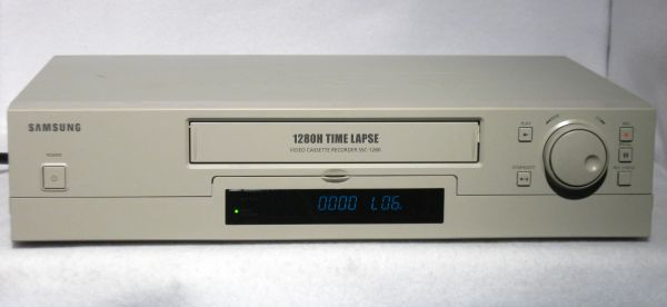 Samsung SSC-1280 Security CCTV Time Lapse Video Tape Recorder VCR - $149 (The Woodlands)