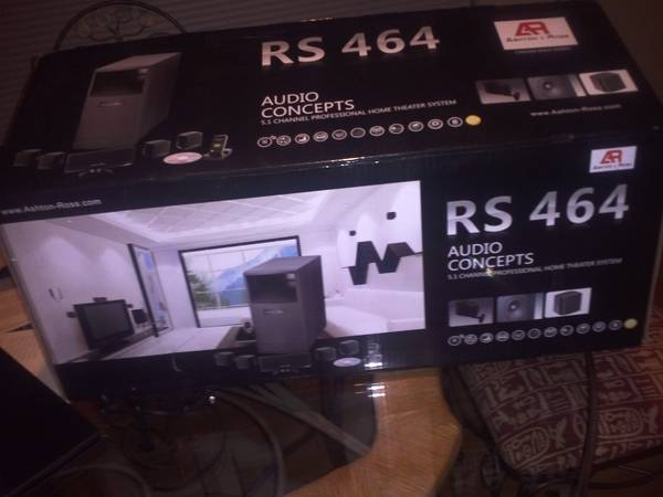 ashton Ross RS 464 5.1 Channel professional home theater system - $1500 (sw houston westheimer and hillcroft )