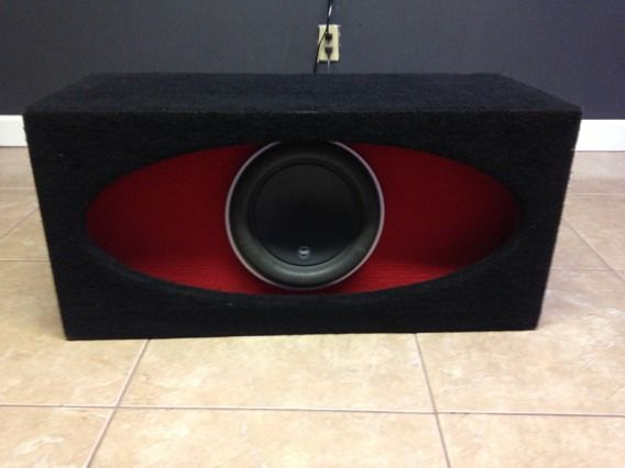 10 jl audio w7 on jl box - $450 (North)