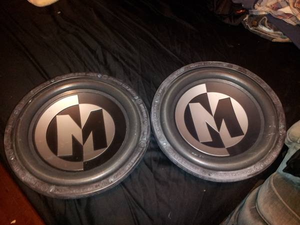 Pair of Memphis Audio 12 Subs - $150 (Baytown)