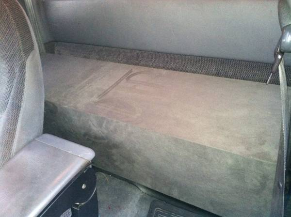 2-10 alpine type R subs in custom box for a 98 dakota and - $200 (cypress tx)