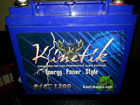 REAL CHEAP REAL BIG KINETIK GEL AUDIO BATTERY 1200 ONLY $80 - $80 (((HOUSTON)))