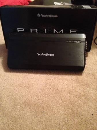 Rockford Fosgate 2 12 inch subs and 500 watt - $400 (cypress tx)