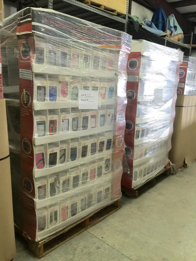 New cell cases over 1200 units in a pallet