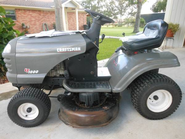 Used Craftsman Tractor Seat : Husky riding lawn mower for sale
