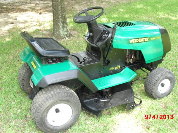 Weed Eater Riding Mower - $425 (Conroe TX.)