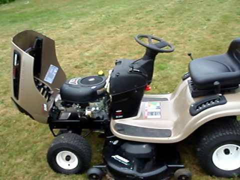 Craftsman DLS-3500 Riding Mower 46 Cut 20HP Intek Plus - $600 (Braeburn Valley SWH)
