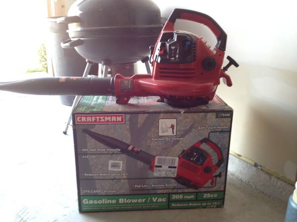 Craftsman leaf lawn blower. 25cc. Gas. 205 mph - $75 (Missouri City)