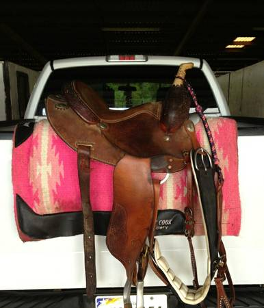 14in Martha Josey edition Barrel Saddle - $400 (Hitchcock)