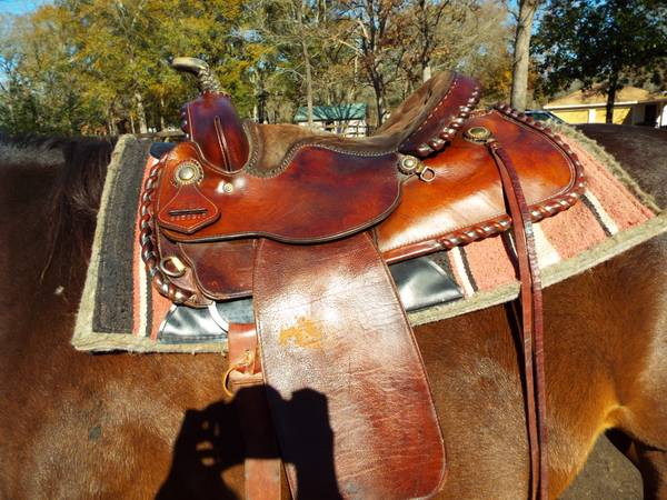 western leather saddle for sale - x0024400 (Spring, TX)