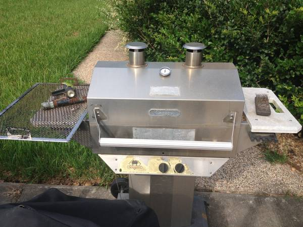 Legacy Stainless Steel Outdoor Propane Cooking GrillSmoker - $50 (Katy, TX)