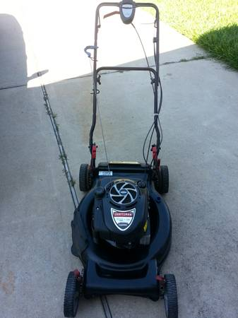 Sears Craftsman Platinum Self Propelled Lawn MowerTrimmerEdger (Sugarland Katy TX)