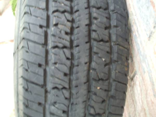 2358516 G RATED TRAILER TIRE 90 TREAD - $50 (PEARLAND)