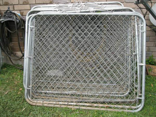 Used Chain Link Dog Kennels For Sale