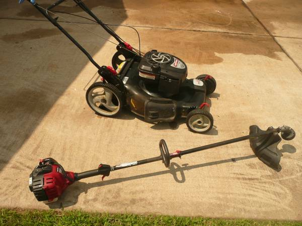 Sears Craftsman Platinum Self Propelled Lawn MowerTrimmerEdger (Katy TX)