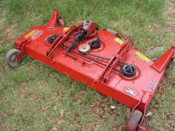 Belly mower for a Massey Ferguson 1010  - $250 (Magnolia)