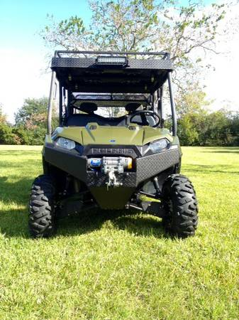 2012 Custom Polaris Ranger Crew 800 Sale or Trade (Santa Fe)