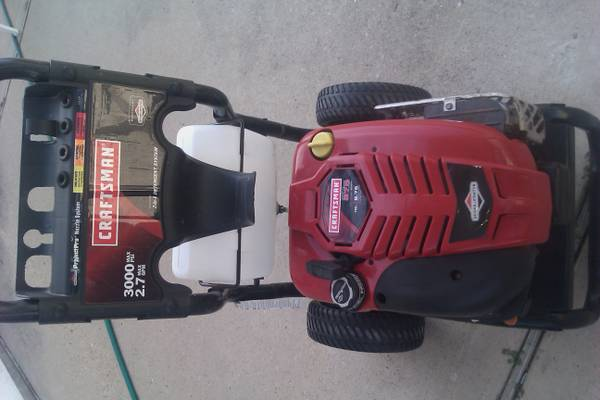 CRAFTSMAN PRESSURE WASHER - $175 (hwy6 clay road)