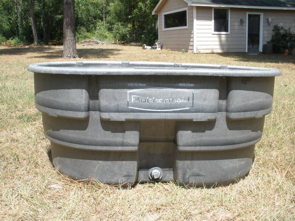 Rubbermaid 150 Gal Stock Tank - $100 (Montgomery)