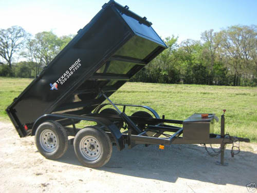 3 495  2015 FACTORY CLEARANCE 5x10 dump bed 7000lb gvwr