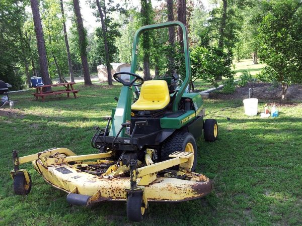 John Deere Tractor F935 with 72 Front Mower - $2850 (Houston)