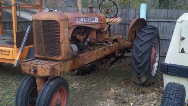 1950s Allis-Chalmers Tractor WD 45 - $800 (Spring)