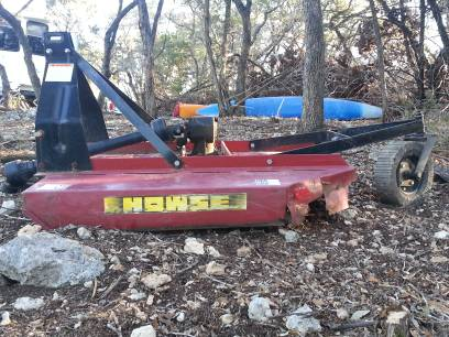Howse 5 foot shredder brush hog - $550 (spring)