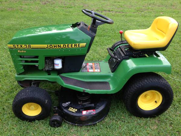 John Deere STX38 Riding Mower 13HP Kohler Engine - $650 (S. Houston)