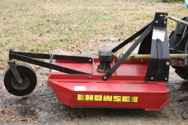 4 ft Howse brush hog (ConroeGrangerland)