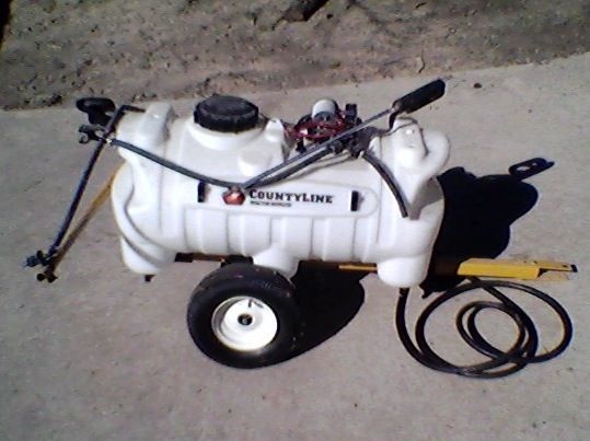 CountyLine Deluxe Trailer Sprayer with Boom, 25 gal. - $180 (Conroe)
